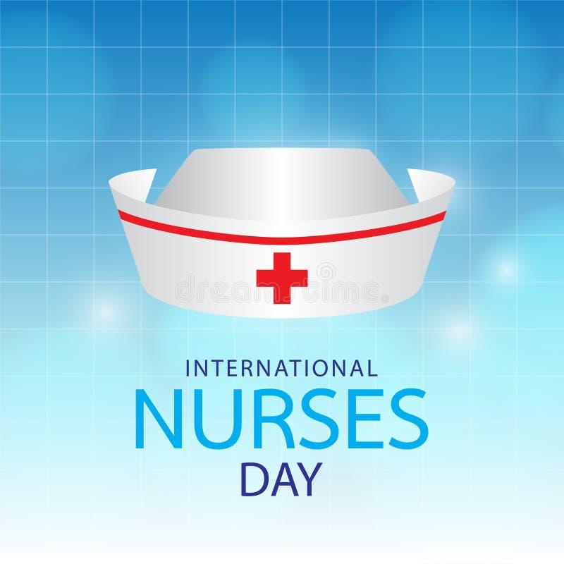 Giorno internazionale dell'infermiere illustrazione vettoriale
