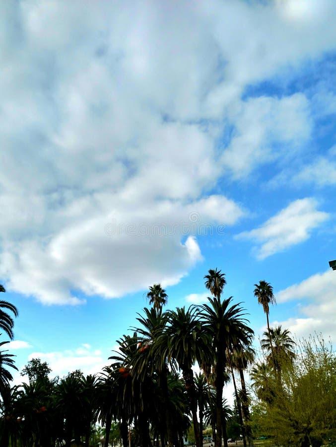 giorno nuvoloso fotografia stock