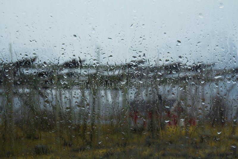 Giorno piovoso sul Lofoten fotografie stock