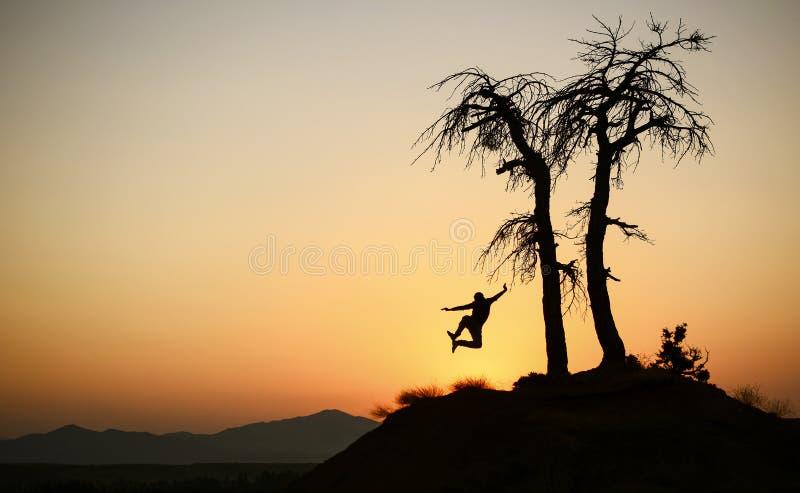 Giorno sano, allegro e pacifico fotografie stock