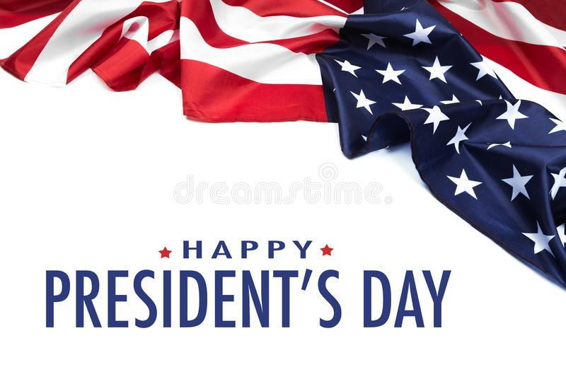 Giorno U.S.A. - immagine di presidenti fotografie stock libere da diritti