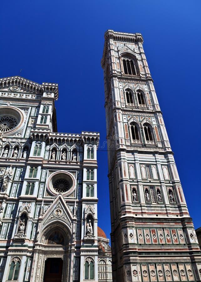 Giotto的钟楼 免版税库存照片