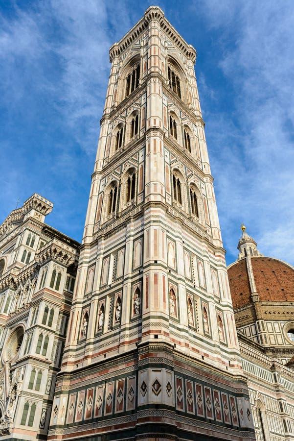 giotto Италия s florence колокольни стоковые изображения rf