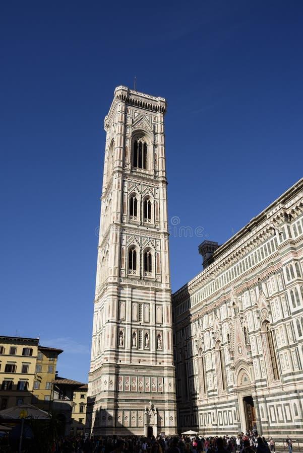 giotto Италия s florence колокольни стоковая фотография rf