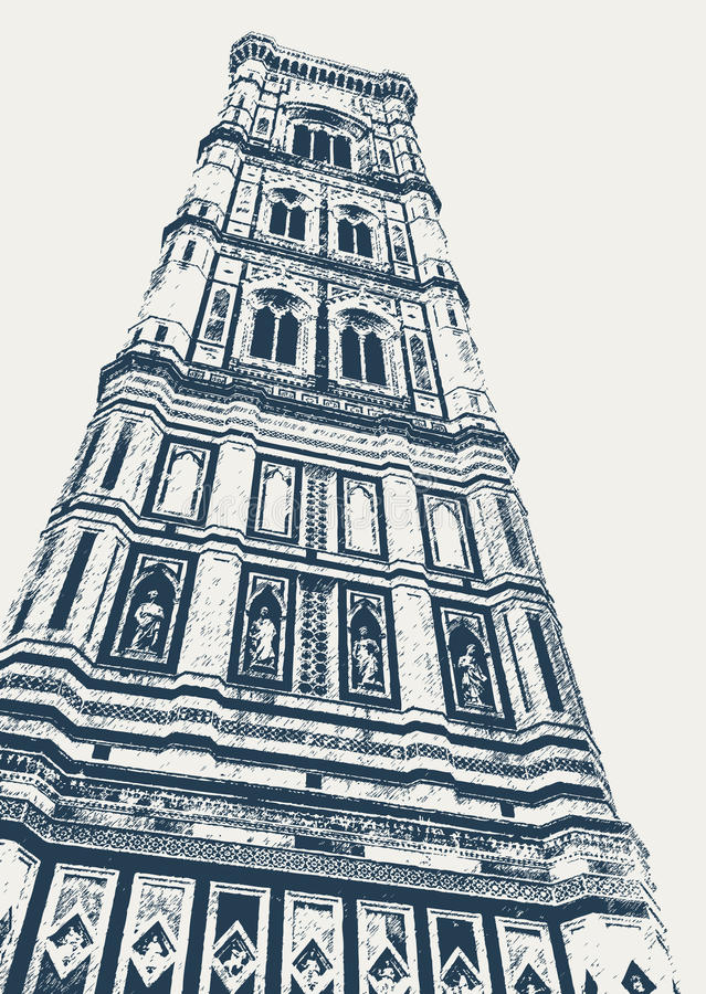 Free Giotto Bell Tower In Florence Royalty Free Stock Photo - 86505515