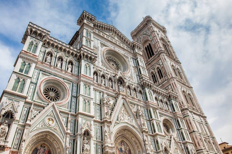 Giotto Glockenturm und Florence Cathedral widmeten im Jahre 1436 lizenzfreies stockbild