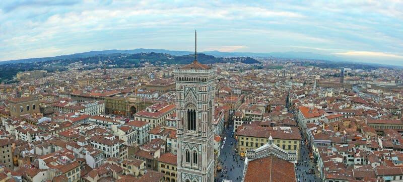 Giotto ` s钟楼 免版税库存图片