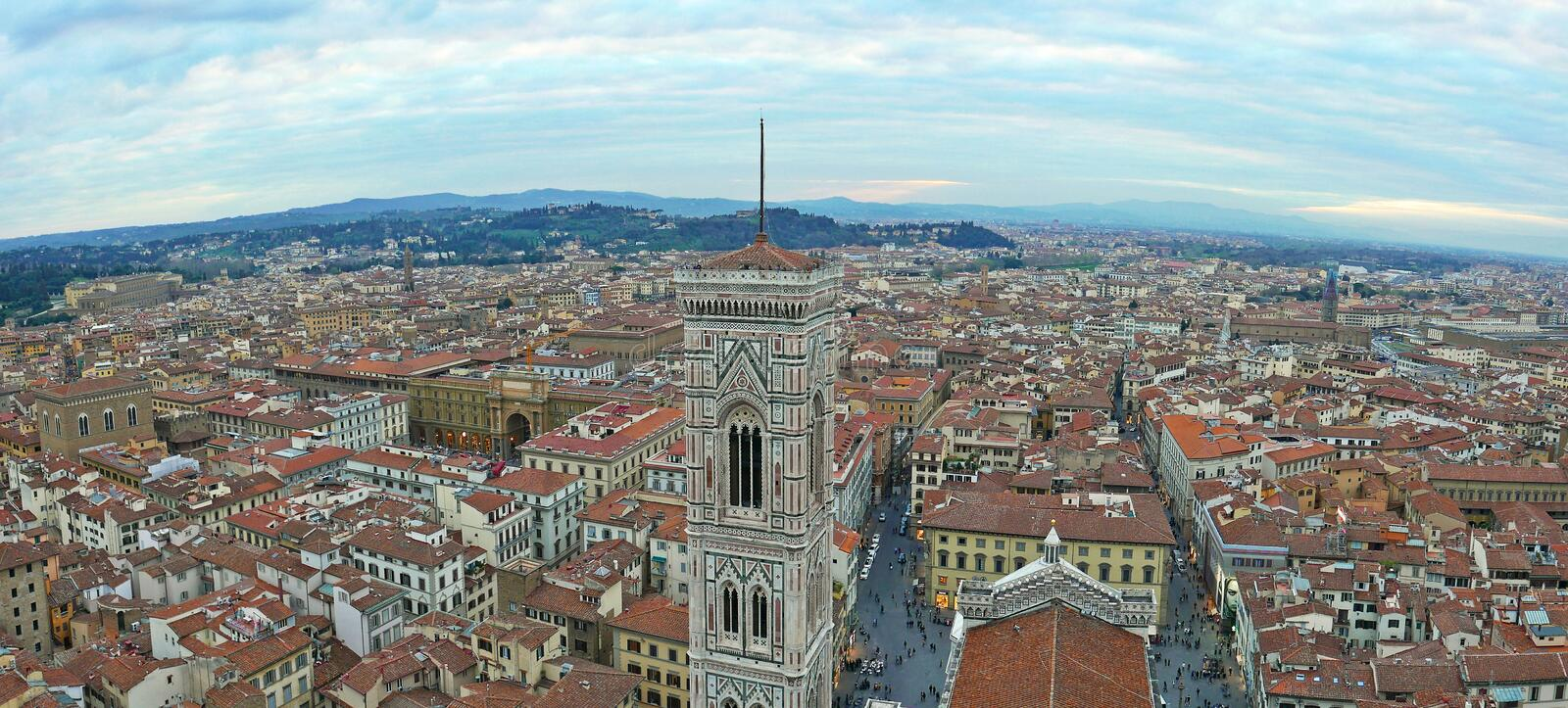 Giotto`s Campanile royalty free stock images