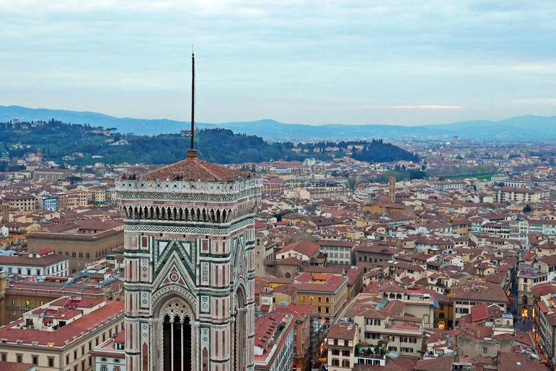Giotto`s Campanile royalty free stock photography