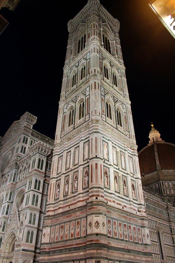 Giotto-` s Glockenturm stockbilder