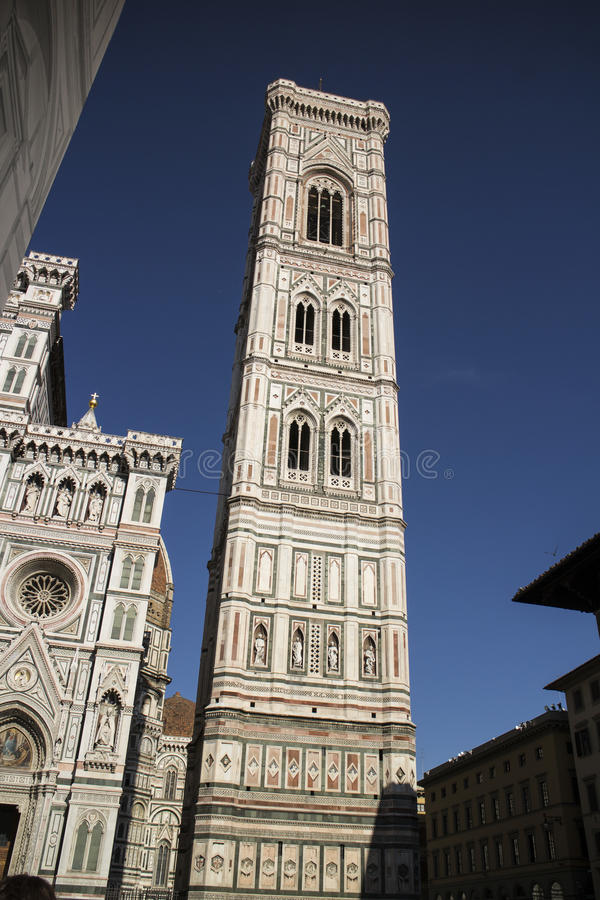 Giottos Glockenturm in Florenz stockfoto