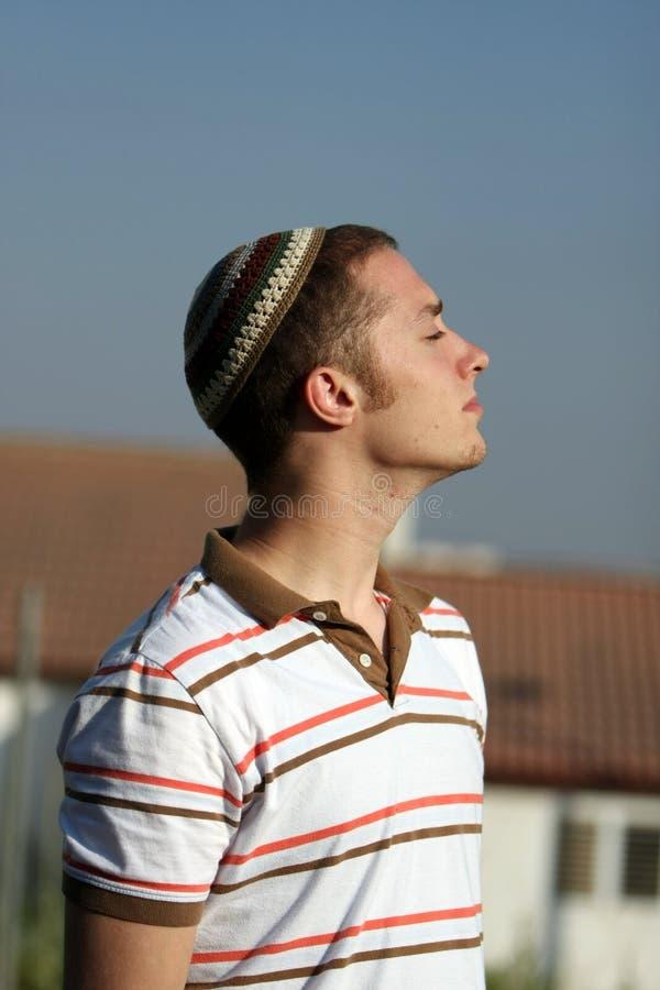 Giovane adulto ebreo fotografie stock libere da diritti