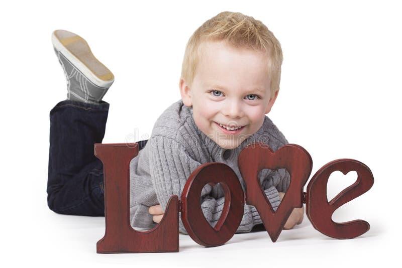 Giovane amore fotografia stock libera da diritti