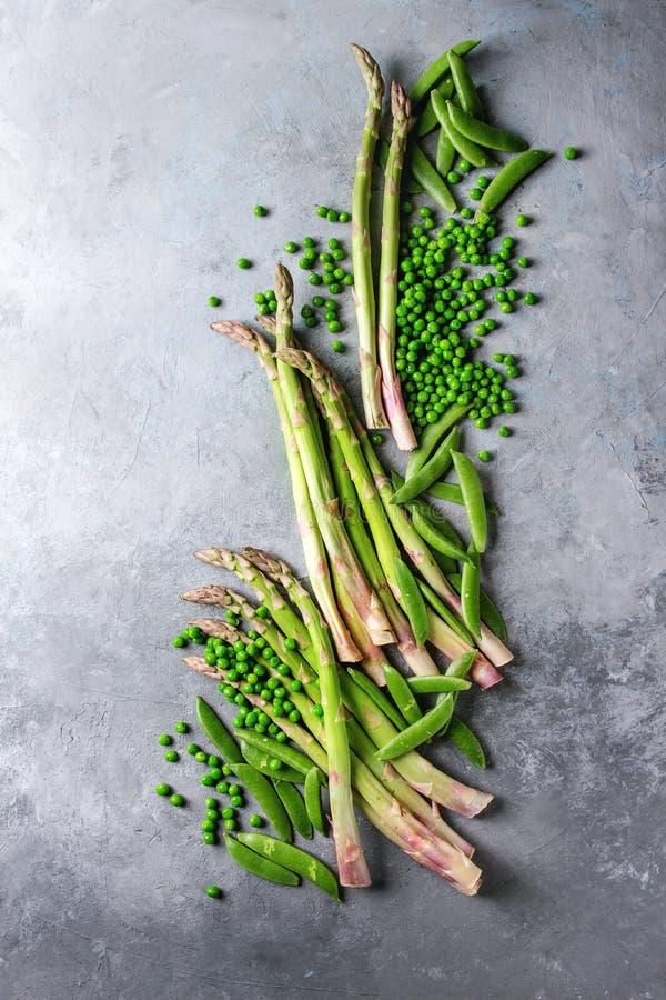 Giovane asparago verde immagine stock libera da diritti