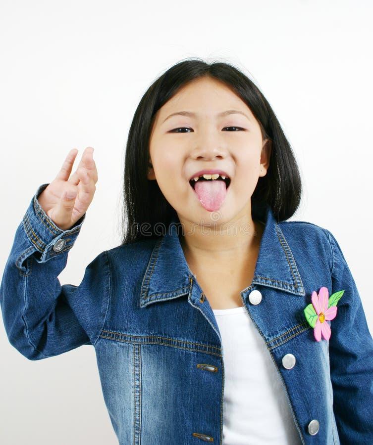 Giovane bambino asiatico 001 fotografia stock libera da diritti