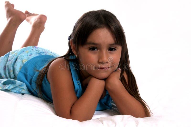 Giovane bambino ispanico fotografie stock libere da diritti