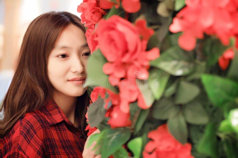Giovane bella donna cinese immagine stock libera da diritti