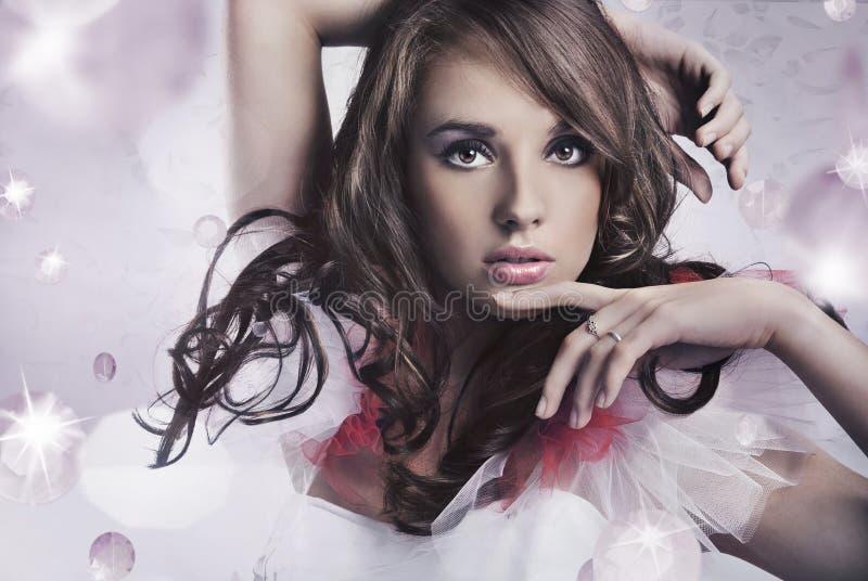 Giovane bellezza fotografie stock