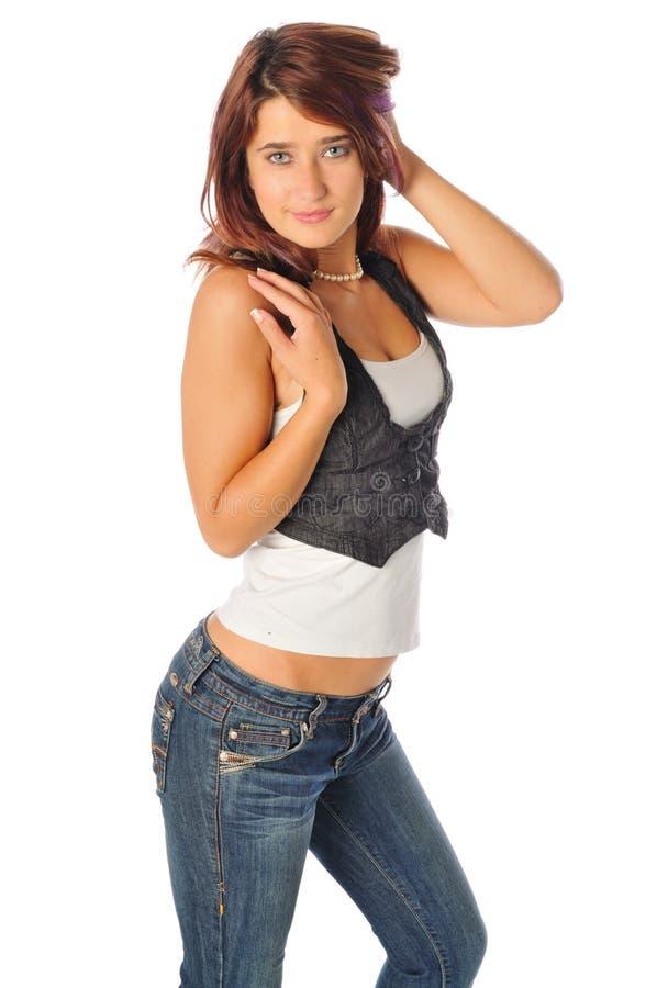 Giovane bellezza teenager bella fotografia stock libera da diritti