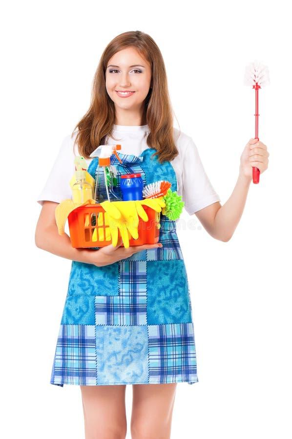 Giovane casalinga immagine stock libera da diritti