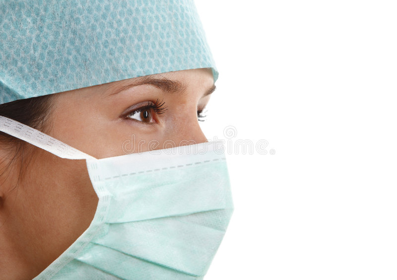 Giovane chirurgo femminile fotografie stock libere da diritti