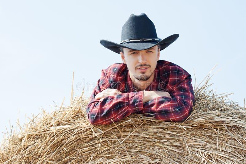 Giovane cowboy fotografie stock libere da diritti
