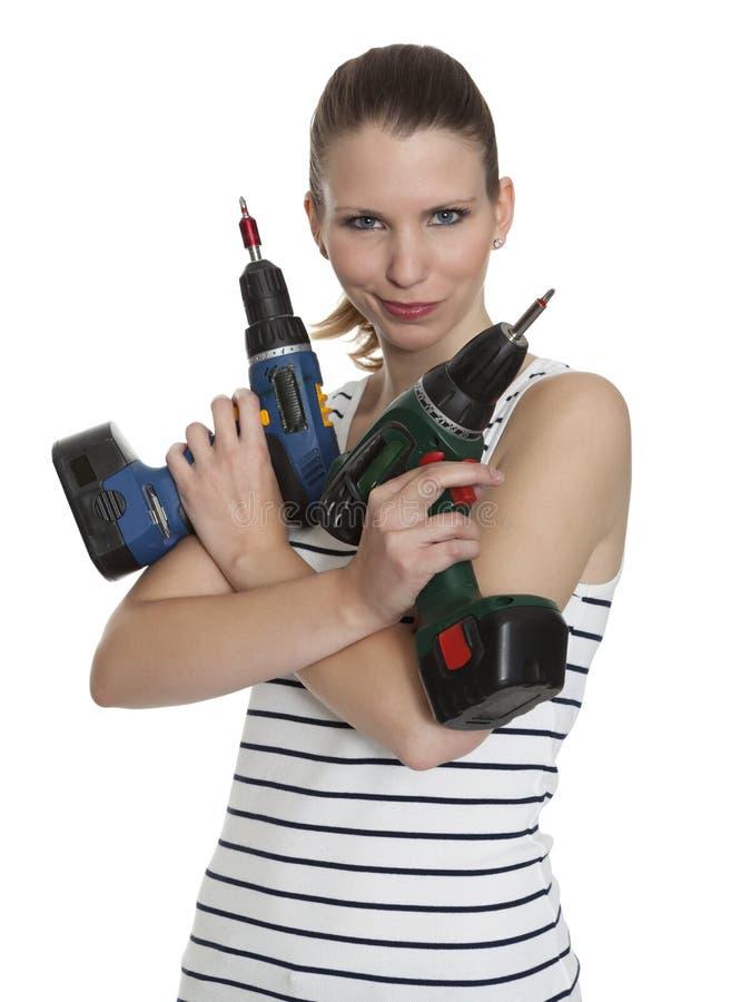 Giovane craftswoman immagini stock libere da diritti