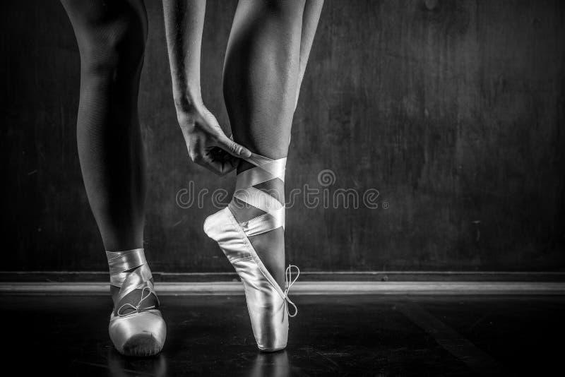 Giovane dancing della ballerina immagine stock