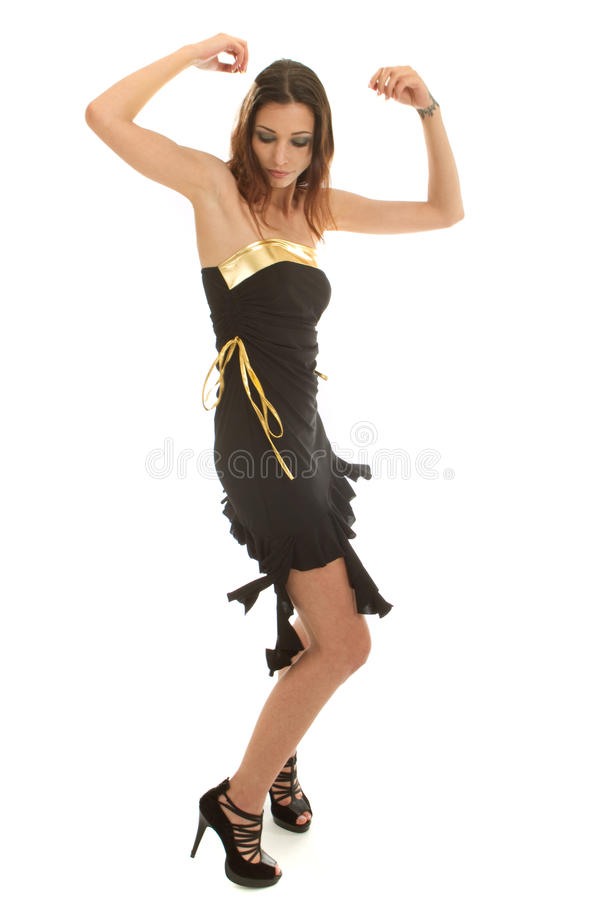 Giovane danzatore alla moda immagini stock libere da diritti