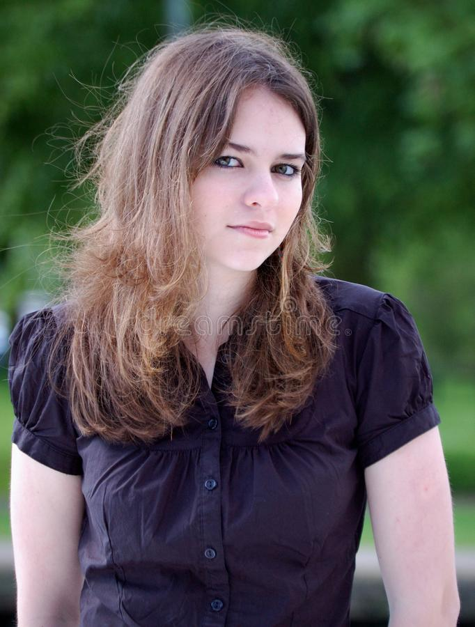 giovane donna immagine stock libera da diritti