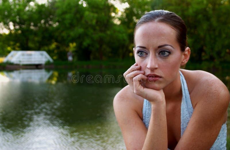 Giovane donna 3 immagini stock