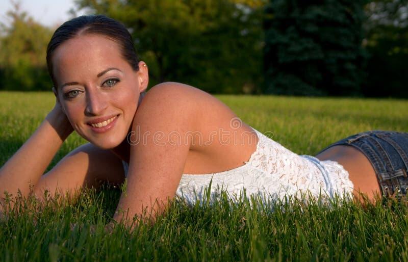 Giovane donna 7 fotografie stock