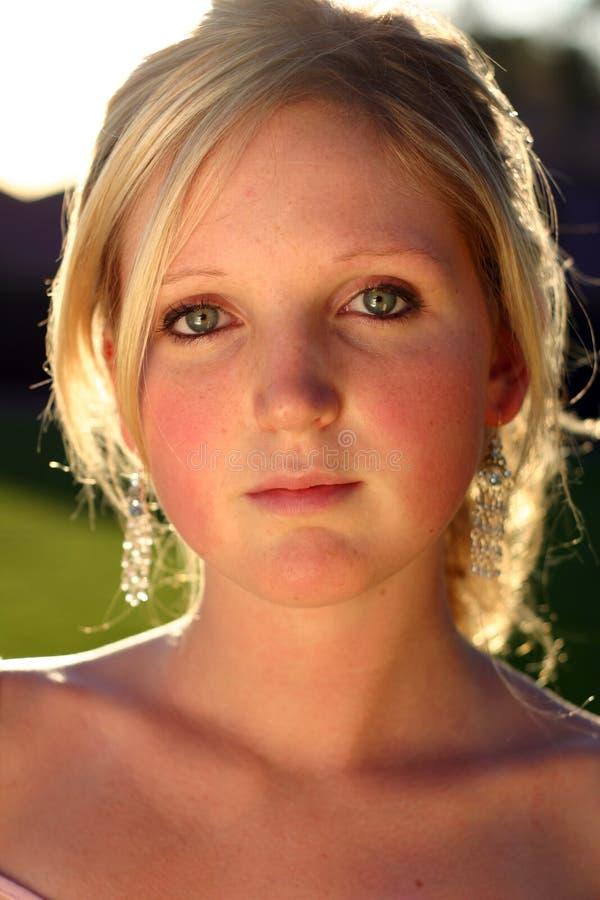 Giovane donna fotografia stock