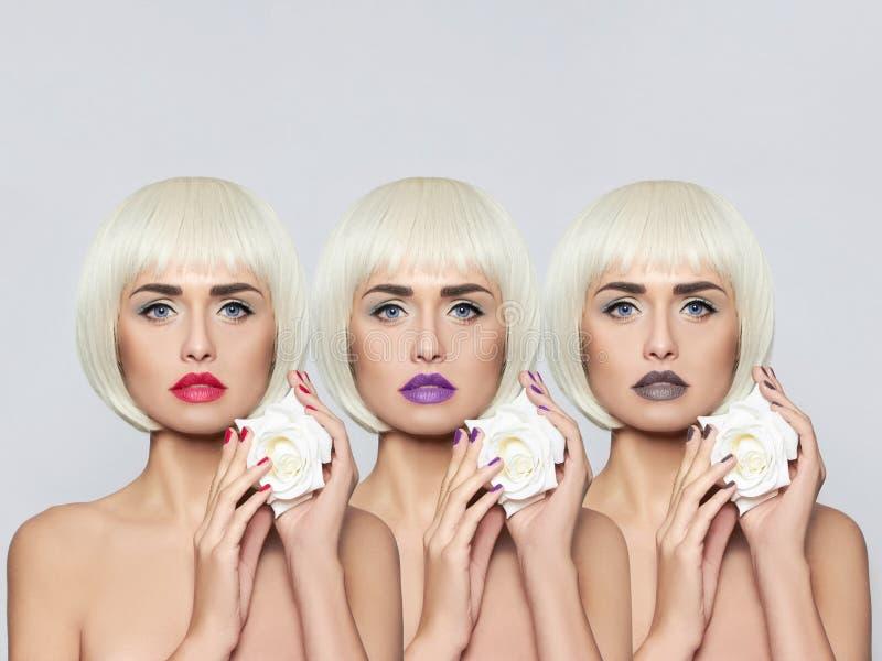 Giovane donna alla moda immagini stock libere da diritti