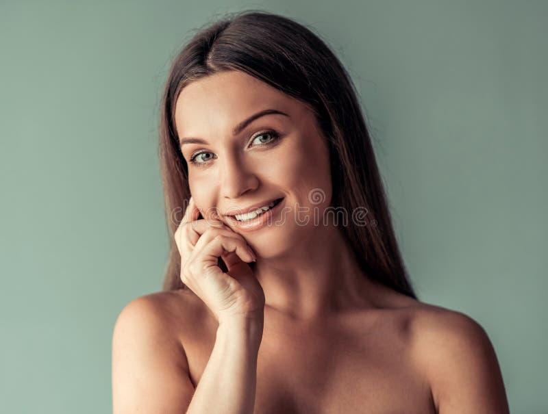 Giovane donna, bellezza fotografia stock