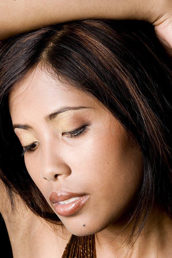 Giovane donna cambogiana immagine stock