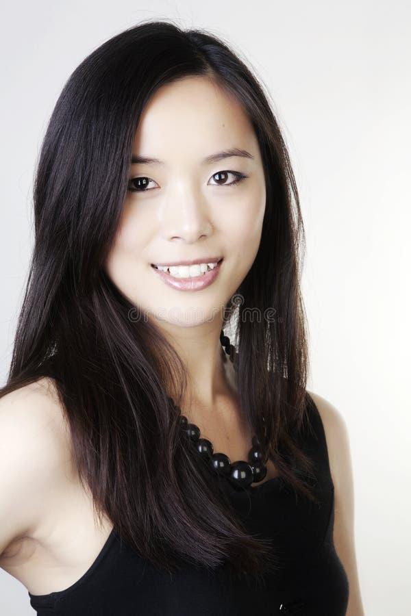 Giovane donna cinese fotografia stock libera da diritti