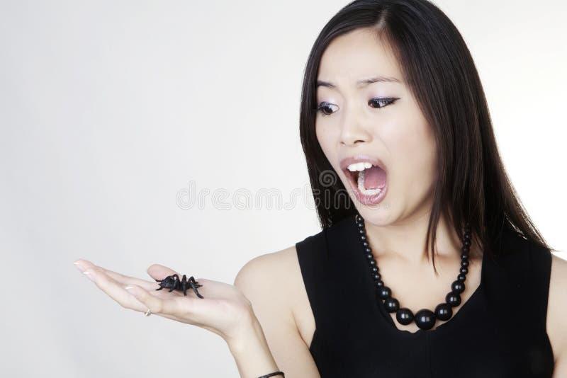 Giovane donna cinese immagini stock libere da diritti