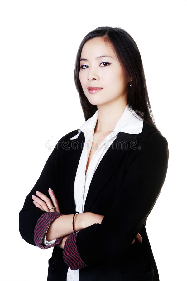 Giovane donna cinese fotografie stock libere da diritti