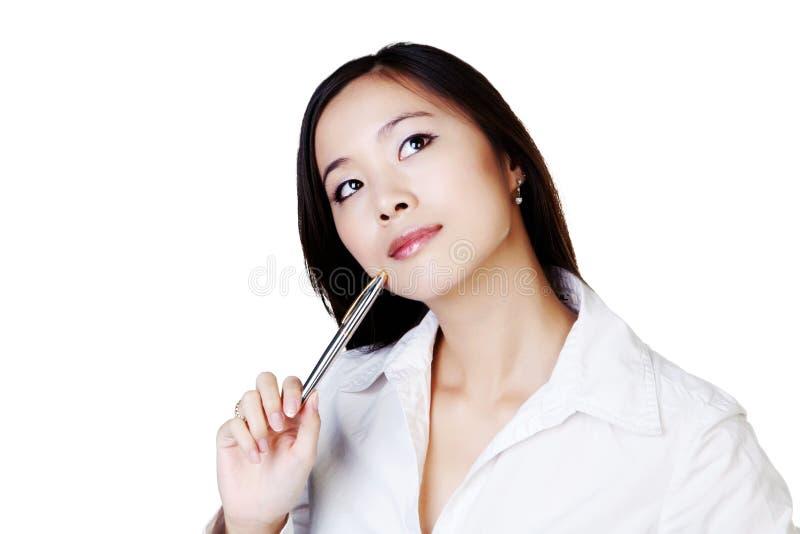 Giovane donna cinese immagini stock