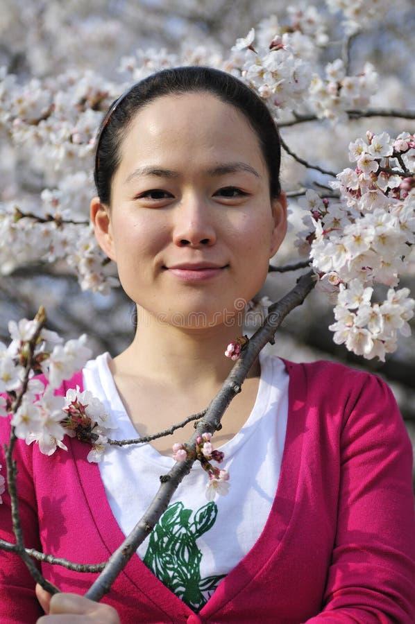 Giovane donna coreana fotografie stock libere da diritti
