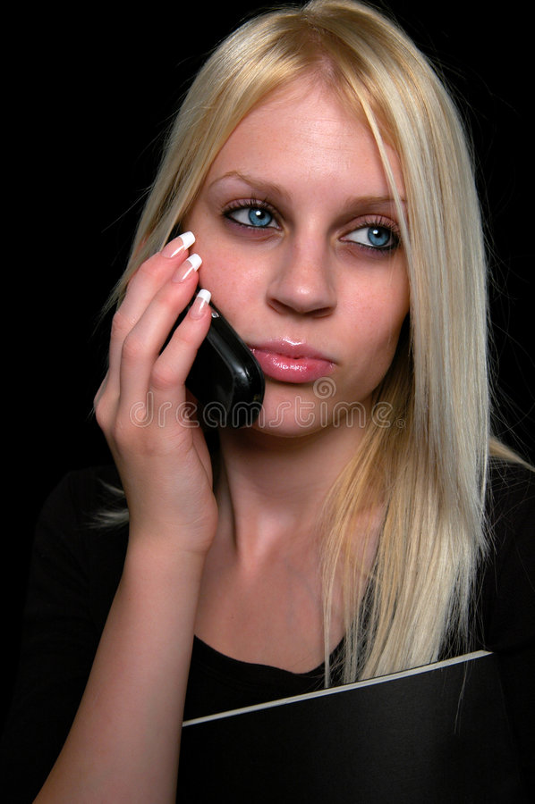 Giovane donna di affari fotografie stock