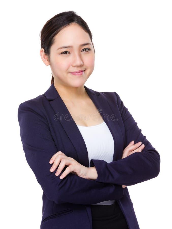 Download Giovane donna di affari immagine stock. Immagine di commerciale - 55356713