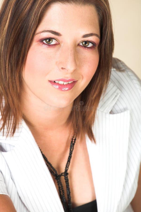 Download Giovane Donna Di Affari Adulta Fotografia Stock - Immagine di donna, brown: 3883148