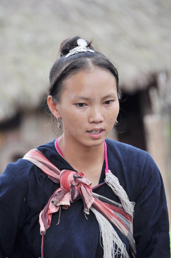 Giovane donna di Lantaen. fotografia stock libera da diritti