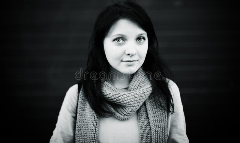 Giovane donna reale fotografia stock libera da diritti