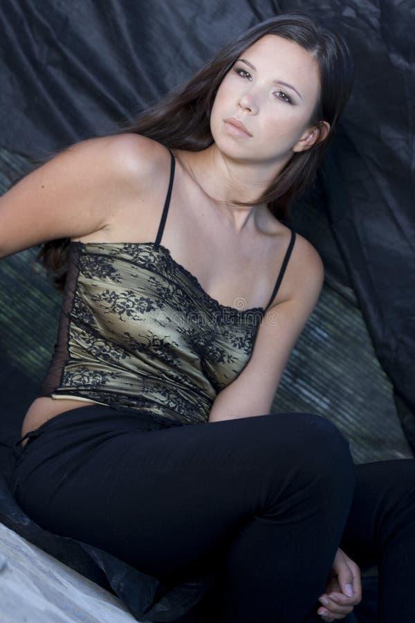 Giovane donna sexy immagini stock