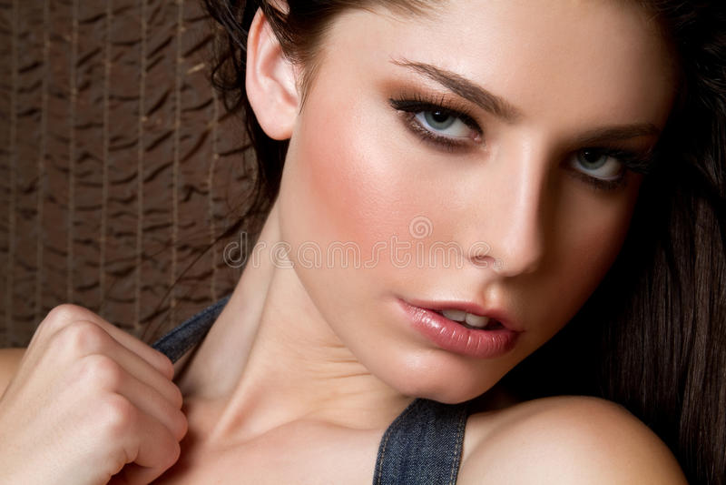 Giovane donna sexy fotografia stock
