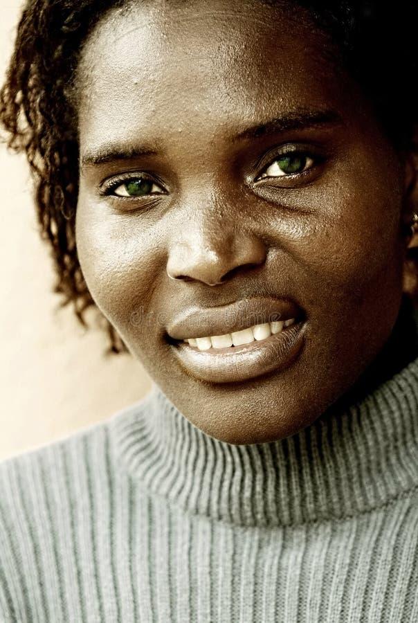 Giovane donna spiegazzata fotografie stock libere da diritti