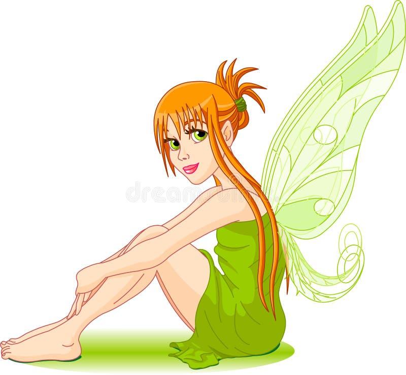 Giovane fairy royalty illustrazione gratis